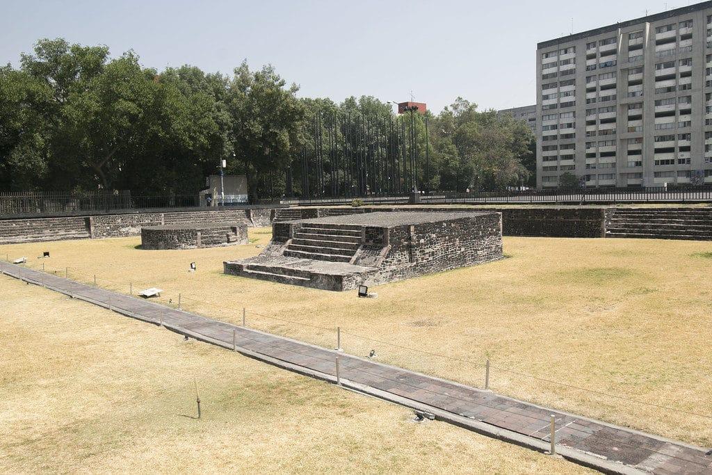 Plaza de las Tres Culturas à Mexico