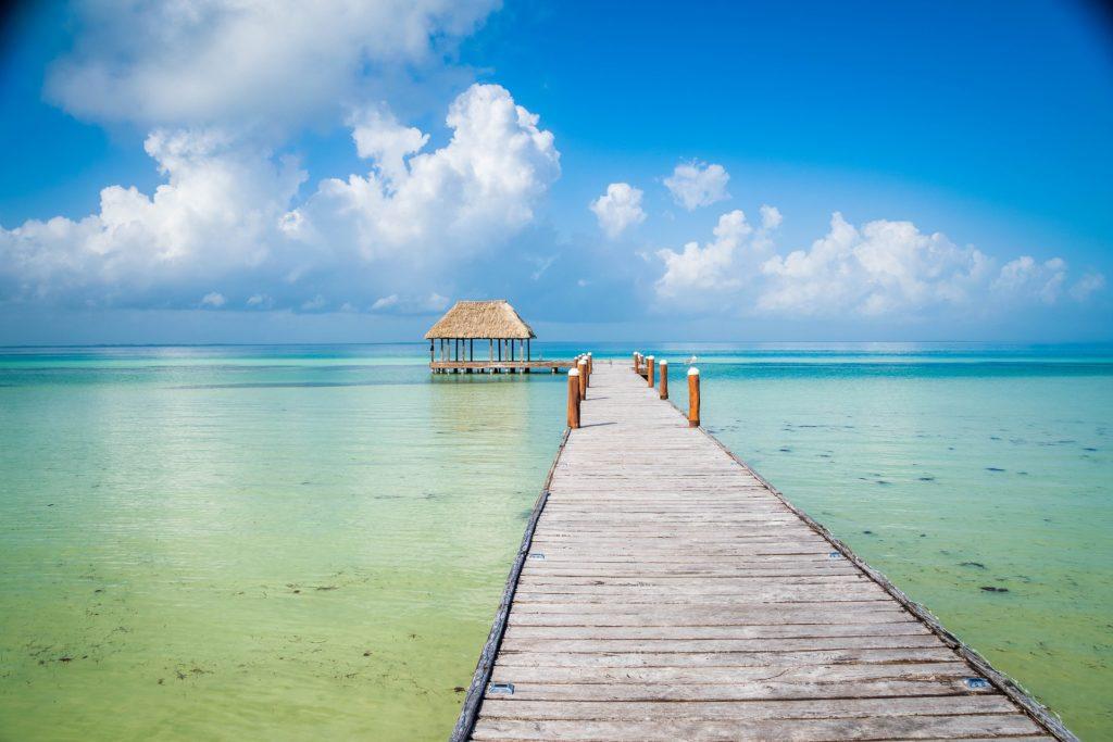 Isla île Holbox Mexique plage