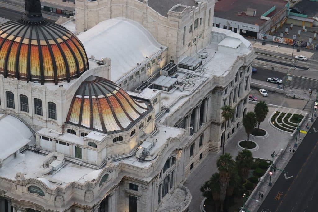 Palacio de Bellas Artes (Palais des Beaux-Arts) Mexico Mexique