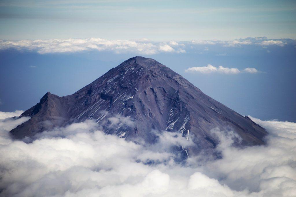 Volcan Popocatepetl au Mexique