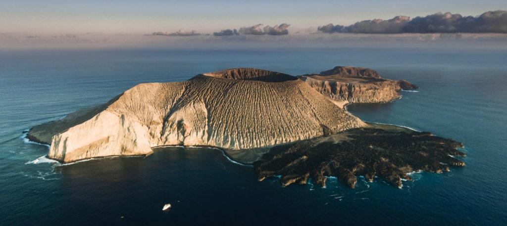 Volcan Evermann, île Socorro, Mexique