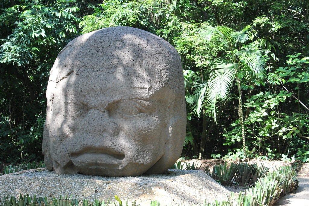 Le musée du parc La Venta à Villahermosa