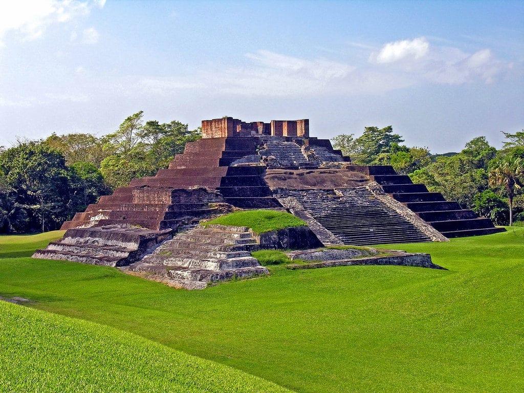 Le site archéologique de Comalcalco à Villahermosa