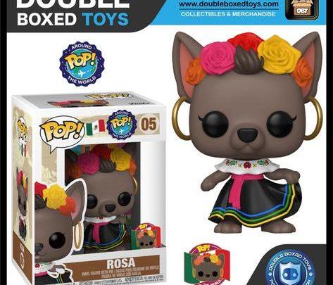 Figurine Pop Mexicaine Rosa Around the World